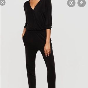 Lou & Grey Cupro Fluid Jumpsuit
